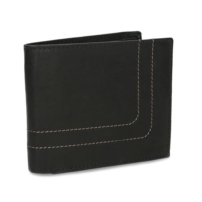 Men's leather wallet bata, brown , 944-6147 - 13