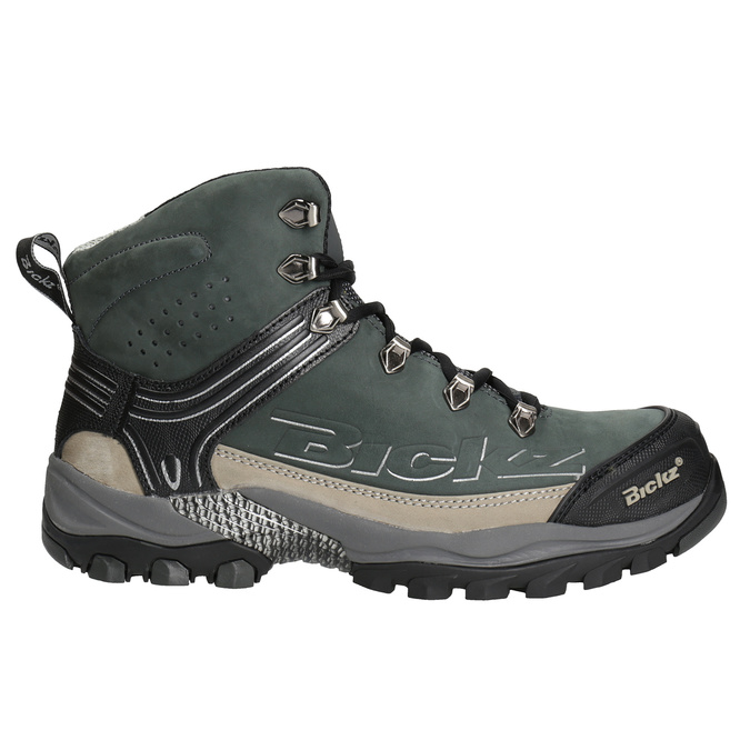 Men's Bickz 202 work shoes bata-industrials, black , 846-6613 - 26