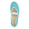 Blue gym shoes with polka dots bata, blue , 379-9103 - 19