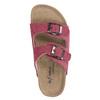 Children's pink slippers de-fonseca, pink , 373-5600 - 19