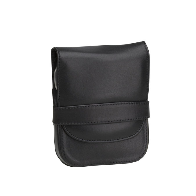 Manicure in a leather case bata, black , 944-6200 - 13