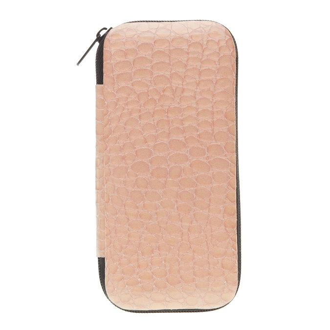 Manicure in a zippered leather case bata, multicolor, 944-0323 - 13