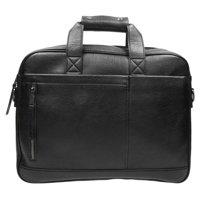 Satchel with detachable strap bata, black , 961-6269 - 26