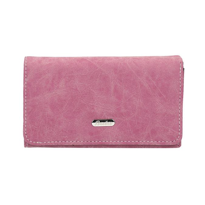 Stylish ladies' purse bata, pink , 941-5153 - 26