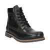 Men´s winter footwear bata, black , 896-6640 - 13