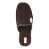 Men's slippers with full toe bata, brown , 879-4609 - 19