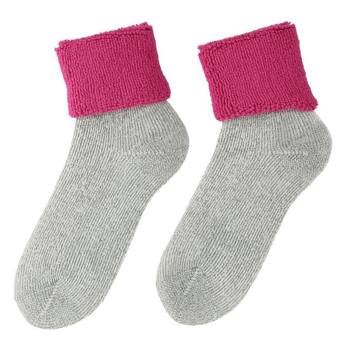 Ladies' thermal socks matex, pink , 919-5382 - 26