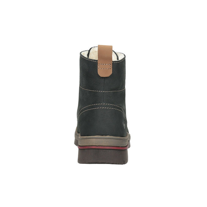 Ladies' leather  winter boots weinbrenner, gray , 596-2636 - 17