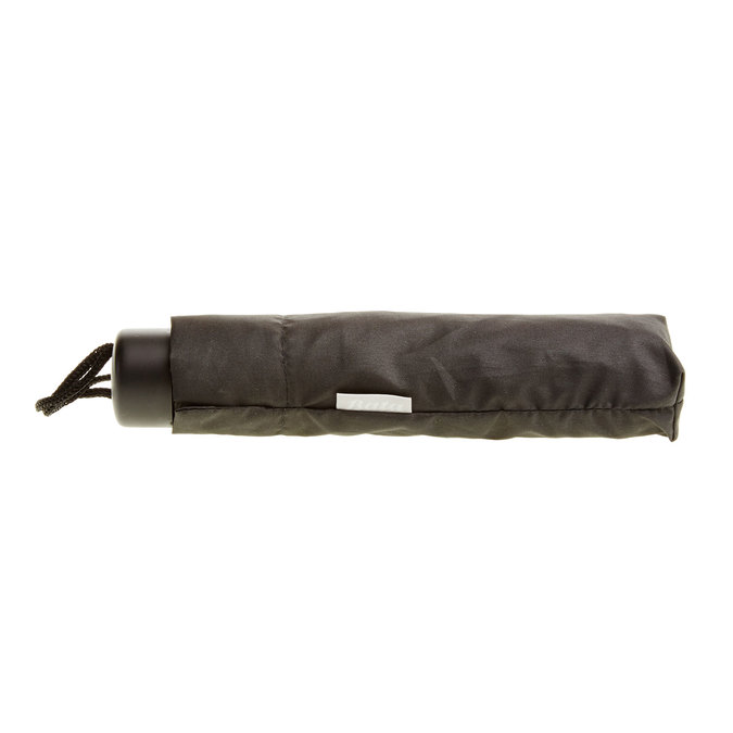 Black telescopic umbrella bata, black , 909-6600 - 16