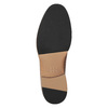 Men's thick-soled leather shoes bata, brown , 826-3809 - 19