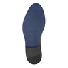 Leather shoes with a distinctive sole conhpol, brown , 824-3857 - 26