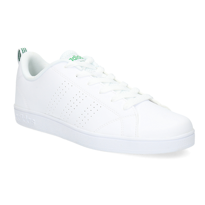 White children's sneakers adidas, white , 401-1233 - 13
