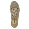 Casual leather low shoes weinbrenner, beige , 546-2603 - 19