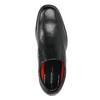 Men's leather shoes rockport, black , 824-6117 - 19
