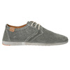 Casual grey leather shoes weinbrenner, gray , 843-2629 - 15