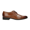 Men´s leather shoes in the Derby style bata, brown , 826-4736 - 15