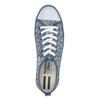 Ladies' patterned sneakers north-star, blue , 589-9445 - 19