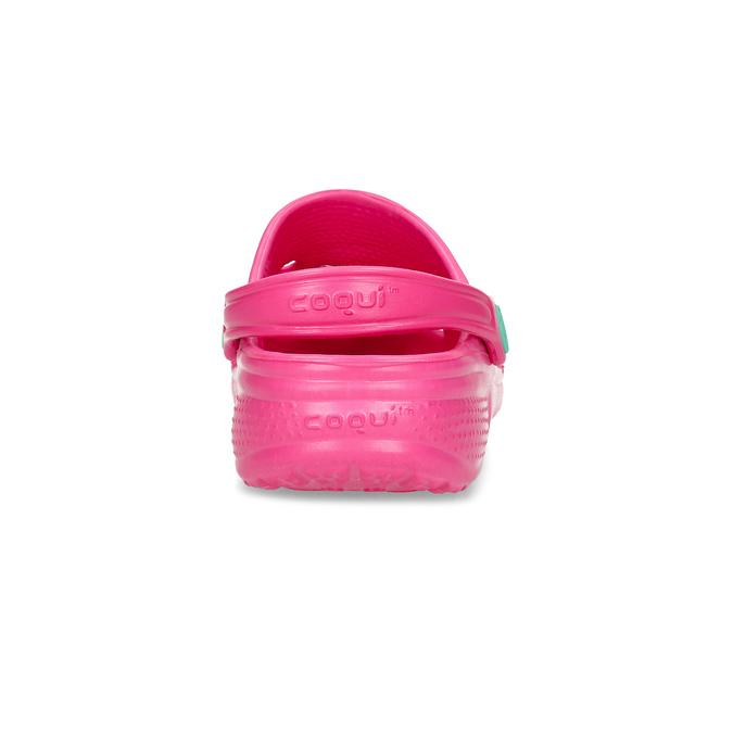 Girls' pink sandals coqui, pink , 372-5604 - 15