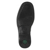 Men's shoes with a distinctive sole pinosos, black , 824-6540 - 19