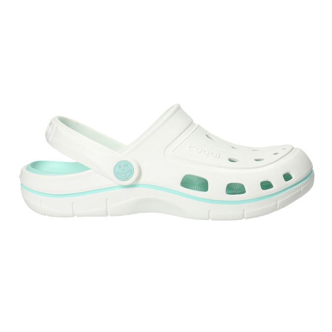 Ladies' white sandals coqui, white , 572-1606 - 15