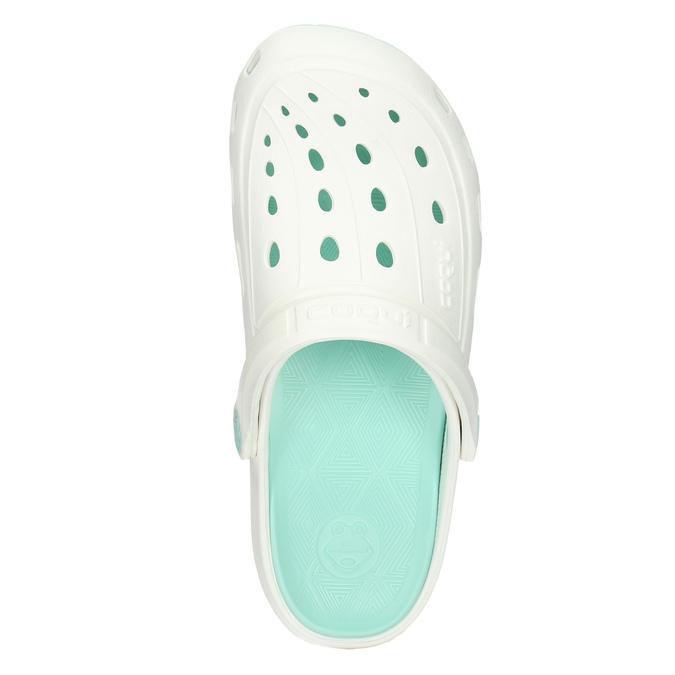 Ladies' white sandals coqui, white , 572-1606 - 26