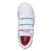Girls' sneakers with Velcro adidas, white , 301-1268 - 19