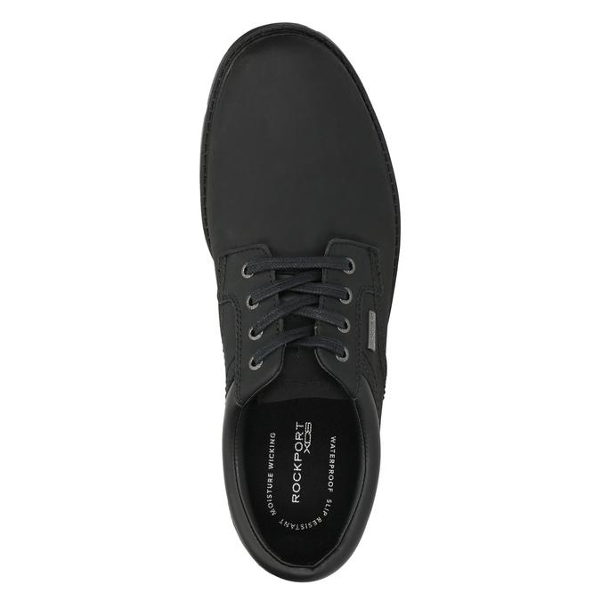 Men's leather shoes rockport, black , 826-6023 - 26