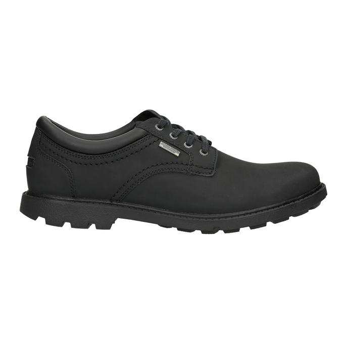Men's leather shoes rockport, black , 826-6023 - 15