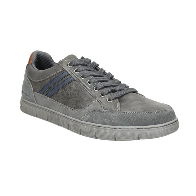 Men's grey sneakers north-star, gray , 841-2607 - 13