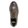 Men's leather shoes bata, brown , 826-4619 - 19