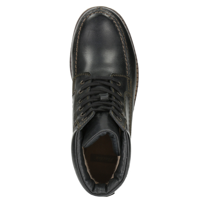 Men´s winter footwear bata, black , 896-6640 - 15