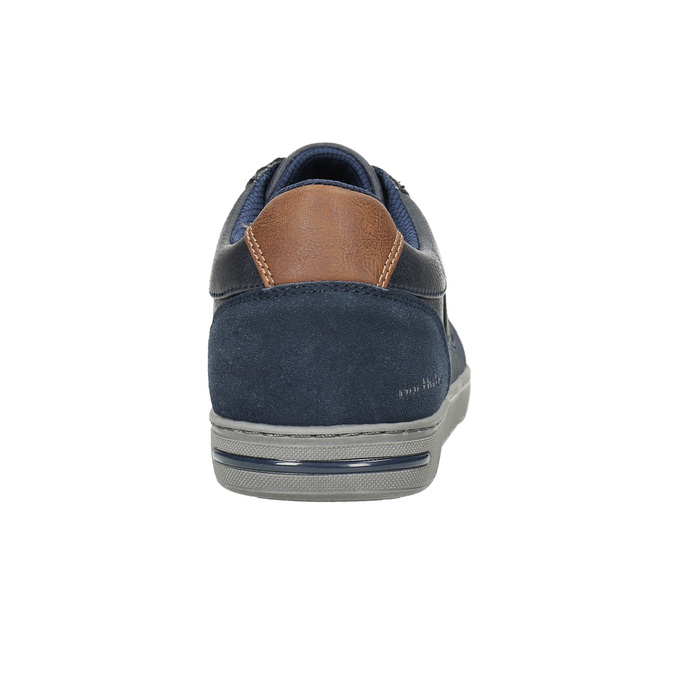 Men's casual sneakers north-star, blue , 841-9607 - 17