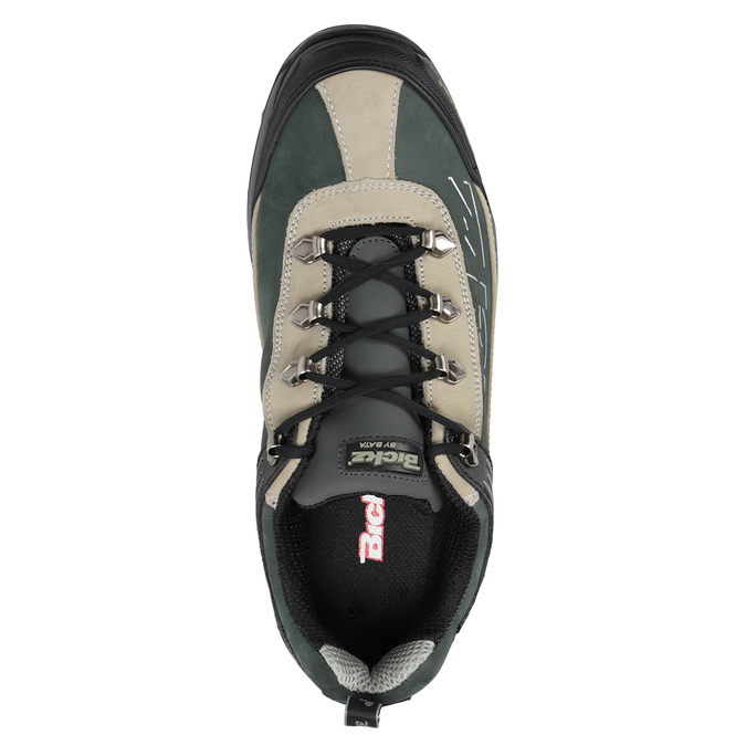 Men's Bickz 201 work shoes bata-industrials, black , 846-6801 - 15
