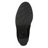 Ladies' black heeled high boots bata, black , 799-6614 - 19
