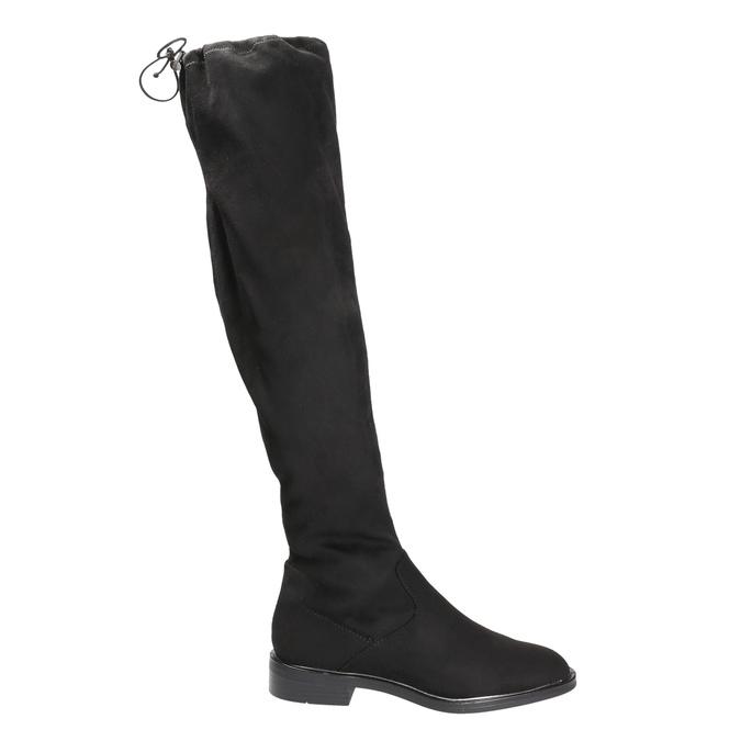 Ladies' high boots bata, black , 599-6616 - 15