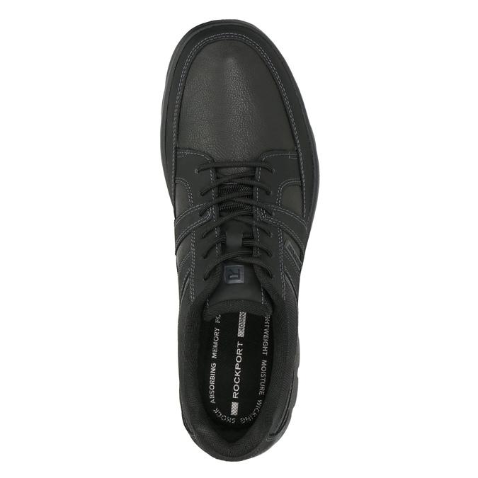 Men's casual sneakers rockport, black , 826-6035 - 26