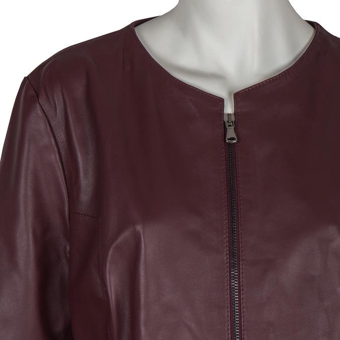 Ladies' Leather Jacket bata, multicolor, 974-0143 - 16