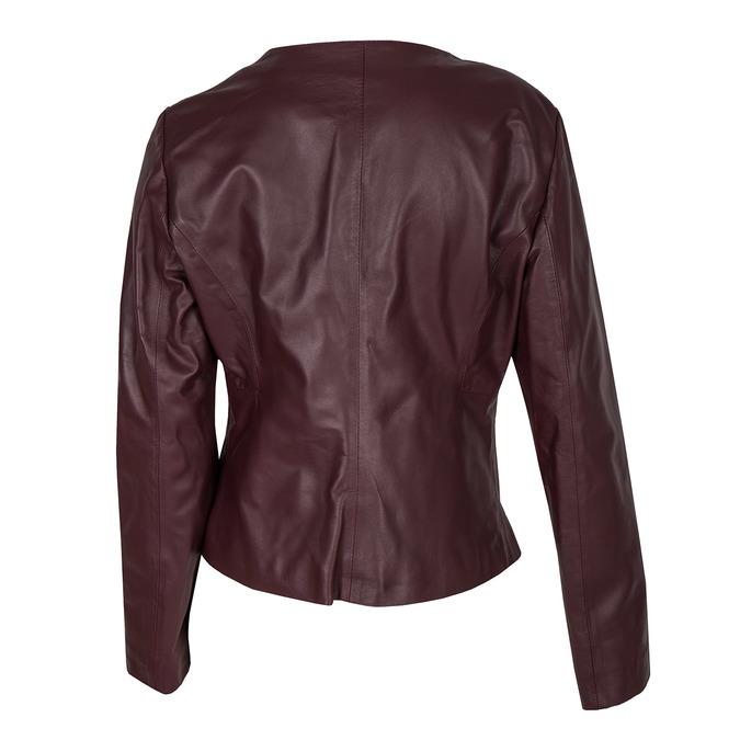Ladies' Leather Jacket bata, multicolor, 974-0143 - 26