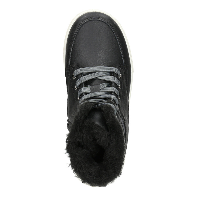 Children's Winter Boots mini-b, black , 491-6652 - 26