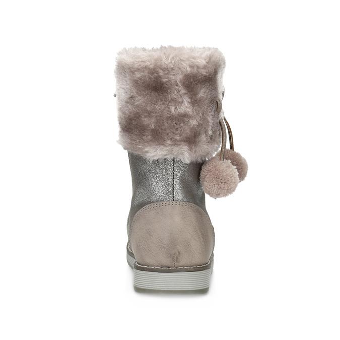 Children's Winter Boots bubblegummer, beige , 291-8624 - 15