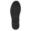 Girls' high boots with rhinestones mini-b, black , 391-6396 - 17