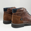 Men's leather ankle boots bata, brown , 826-3611 - 14