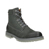 Men's leather boots with distinctive sole weinbrenner, gray , 896-2702 - 13