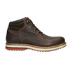 Men's Leather Winter Boots bata, brown , 896-4676 - 15