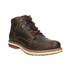 Men's Leather Winter Boots bata, brown , 896-4676 - 13