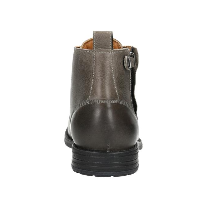 Men's Ombré Ankle Boots bata, gray , 896-2684 - 17