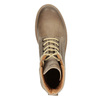 Brown leather ankle boots weinbrenner, 896-8702 - 15
