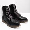 Ladies' Leather Ankle Boots bata, black , 594-6681 - 18