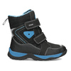 Children's Winter Boots with Hook-and-Loop Closures mini-b, black , 491-6653 - 19