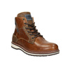 Men's Leather Winter Boots bata, brown , 896-3666 - 13